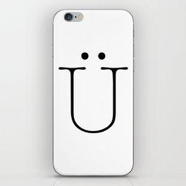 Letter Ü Typewriting iPhone Skin