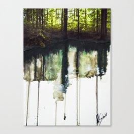 Water & Photo Series Canvas Print