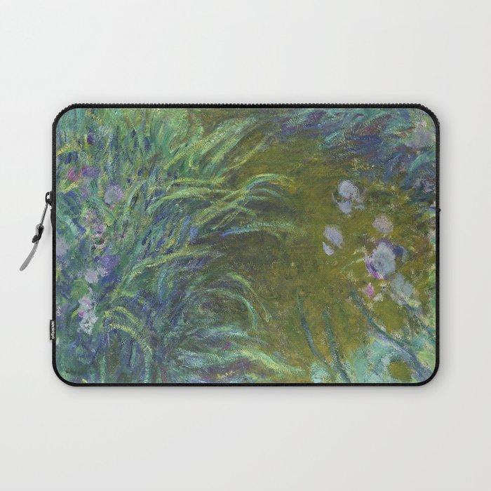 Irises by Claude Monet Laptop Sleeve