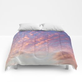 Sunset and Cotton Candy Comforters
