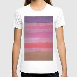 Thick Bronzed Stripes T-shirt
