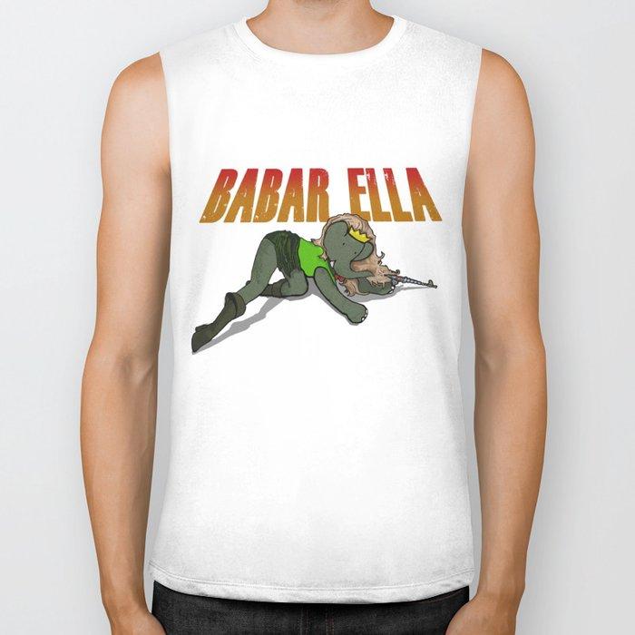 Babar Ella Biker Tank