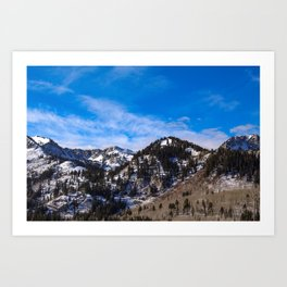 The Wasatch Front Art Print