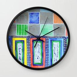 Entrances Wall Clock