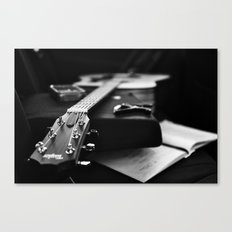 The V Sessions Canvas Print