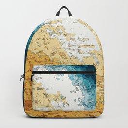 Satellite generative illustration Backpack