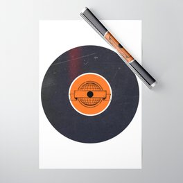 Vinyl Record Art & Design   World Post Wrapping Paper