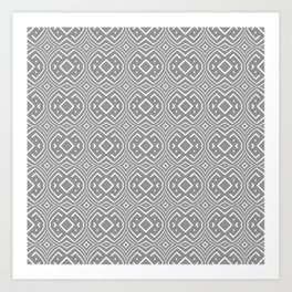 Fisheye knots Art Print