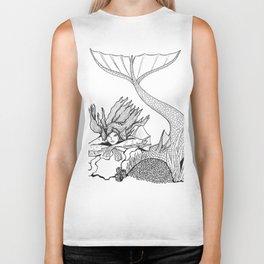 Mermaid rock Biker Tank