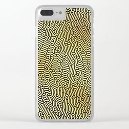 Abstract Pattern XIX Clear iPhone Case