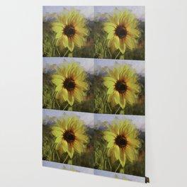 Colby Sunflower Wallpaper
