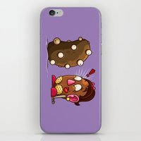 potato iPhone & iPod Skins featuring Potato Potaato by Artistic Dyslexia