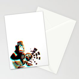 Imploding Perceptions Stationery Cards