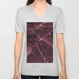 Amethyst Granite Tiles Unisex V-Neck