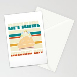 Official nothing day - sloth Stationery Cards