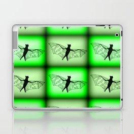 bats- in green Laptop & iPad Skin