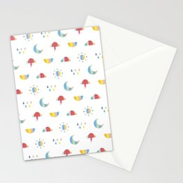 Weather Stationery Cards