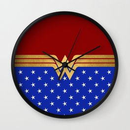 Wonder Of Women Wall Clock