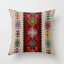Kilim pattern #022 Throw Pillow