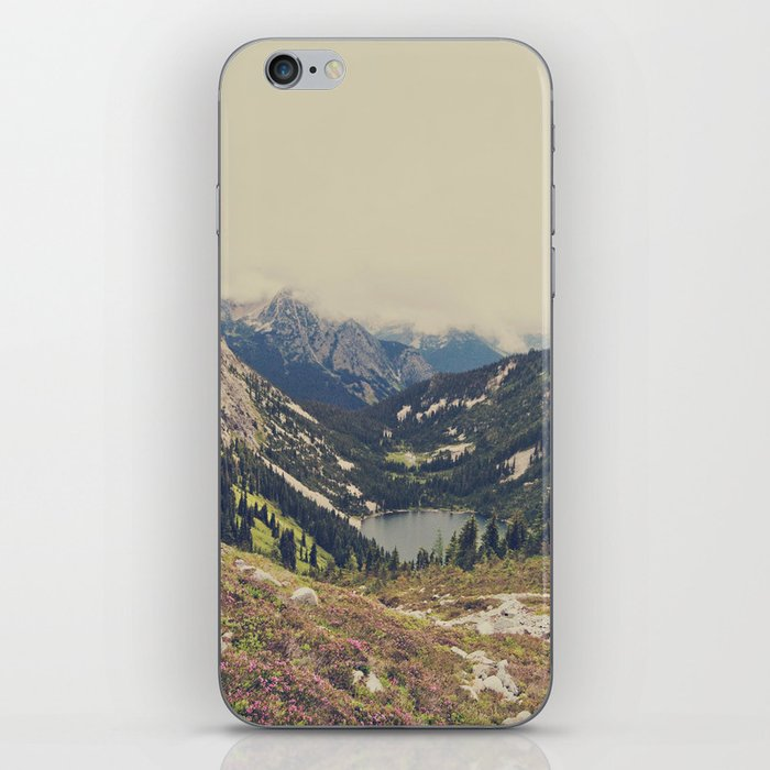 Mountain Flowers iPhone Skin