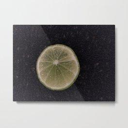 Lemon Moon Metal Print