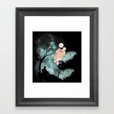 Hush (Alt colors) Framed Art Print
