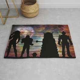 Doctor Who: The Whovian Suspects Rug