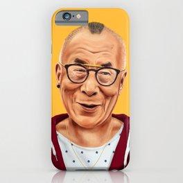 Hipstory -  Dalai Lama iPhone Case
