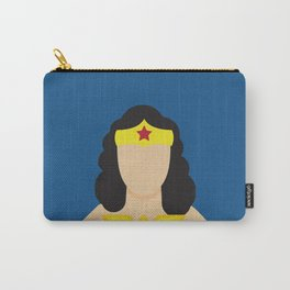 Woman Hero Lynda Carter, Wonder Carry-All Pouch