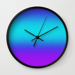Re-Created Color Field No. 9 by Robert S. Lee Wall Clock
