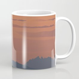 Silhouette Nature Coffee Mug