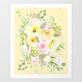 Doro Floral Art Print