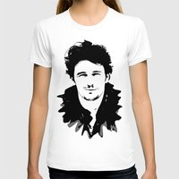 james franco T-shirts featuring james franco by looseleaf