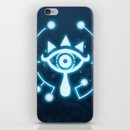 The blue eye iPhone Skin