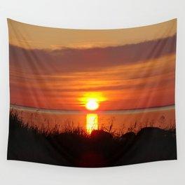 Seaside Sunset Wall Tapestry