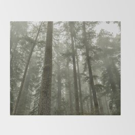 Memories of the Future - nature photography Throw Blanket