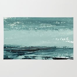 abstract minimalist landscape 4 Rug