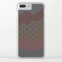 Equilateral Clear iPhone Case
