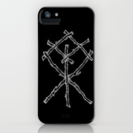 Rune Binding at Midnight iPhone Case