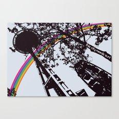 This city needs sun! Canvas Print