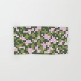 Camo pixel Hand & Bath Towel