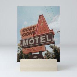 Cozy Cone Motel at Disneyland Mini Art Print