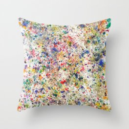 Abstract Artwork Colourful #7 Throw Pillow