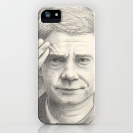 Doctor John Watson - Martin Freeman (BBC Sherlock) iPhone Case