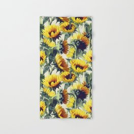 Sunflowers Forever Hand & Bath Towel