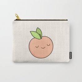 Happy Peach Carry-All Pouch