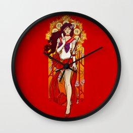 Spirit of Fire - Sailor Mars nouveau Wall Clock
