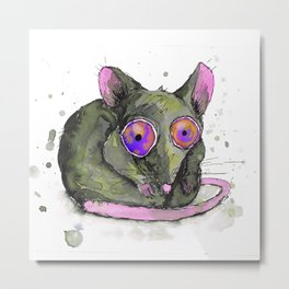Rat Metal Print
