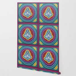 Chakras Mandala Wallpaper