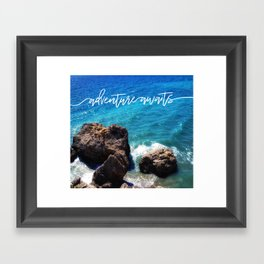The Great Wave Adventure Framed Art Print